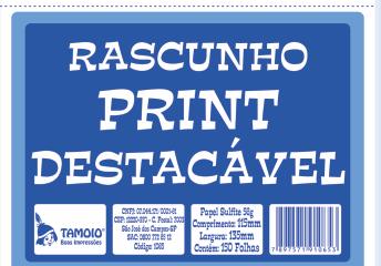 Rascunho Print Descartavel