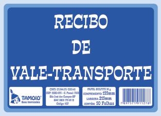 Recibo de Vale-Transporte