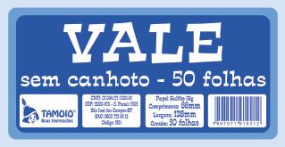 Vale (Sem Canhoto)