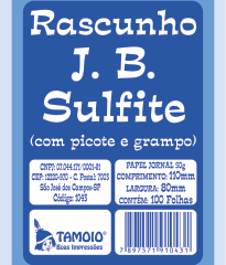 Rascunho J.B Jornal e Sulfite