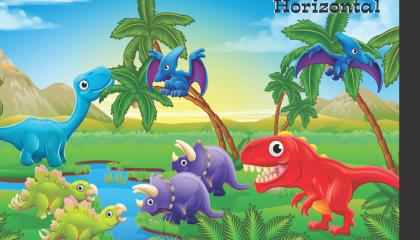 Fantasia – Caderno Brochura Caligrafia Horizontal e Vertical