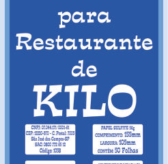 Comanda para Restaurante de Kilo