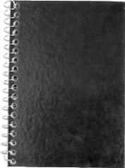 Caderneta Capa Dura Neutro